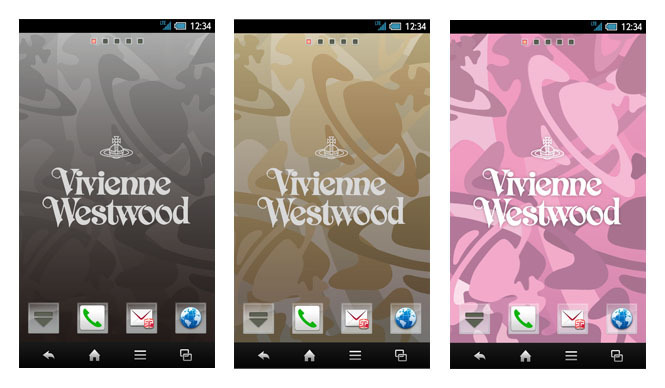 docomo with series SH-01E Vivienne Westwood (8)