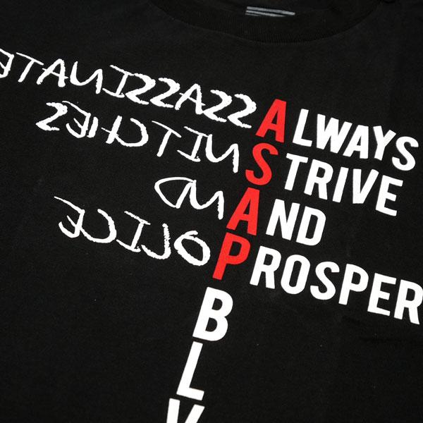 Black Scale × A$AP ROCKY VSVP S/S Tシャツ (2)