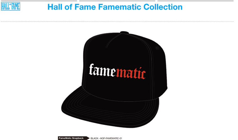 HALL OF FAME x NAS GET ON DOWN RECORDS: Famematic!! (3)