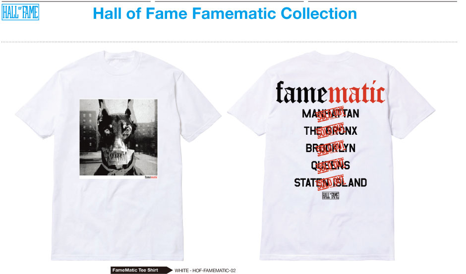 HALL OF FAME x NAS GET ON DOWN RECORDS: Famematic!! (2)