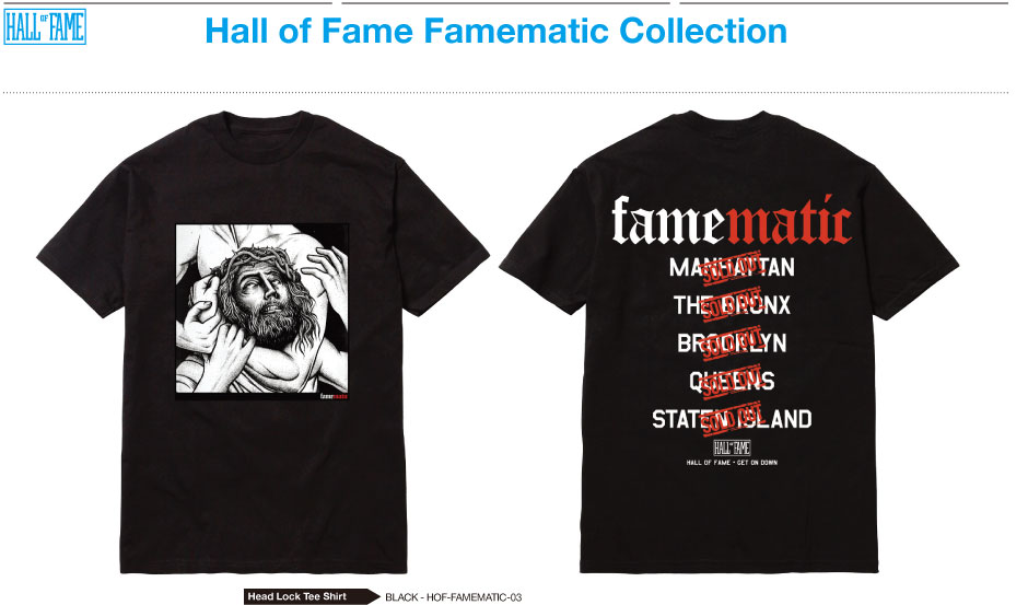 HALL OF FAME x NAS GET ON DOWN RECORDS: Famematic!! (1)