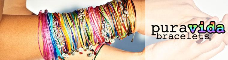 Pura Vida Bracelets (プラヴィダ ブレスレット)