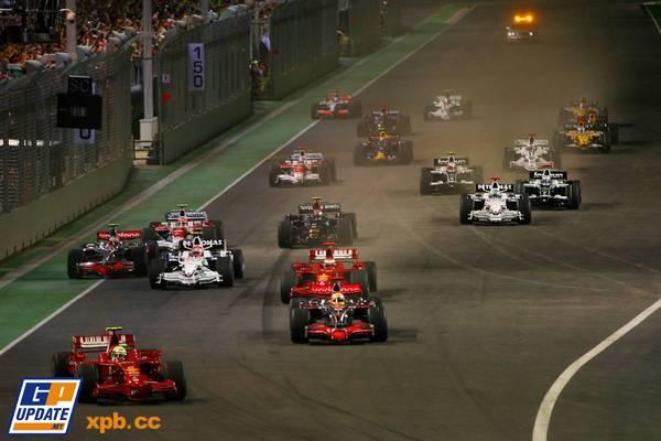 Formula 1 Grand Prix, Singapore, Sunday Race