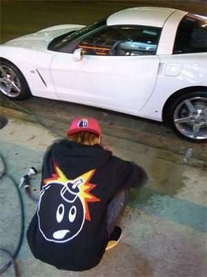 First Staff Blog-洗車ADAM