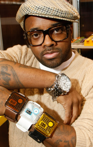 Pop Watch Launch By Jermaine Dupri And Pascal Mouawad At MAGIC