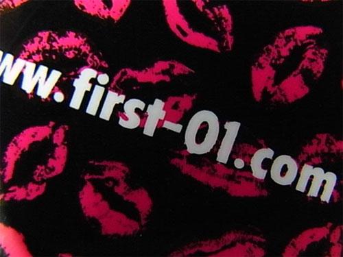 First Staff Blog-ステッカー