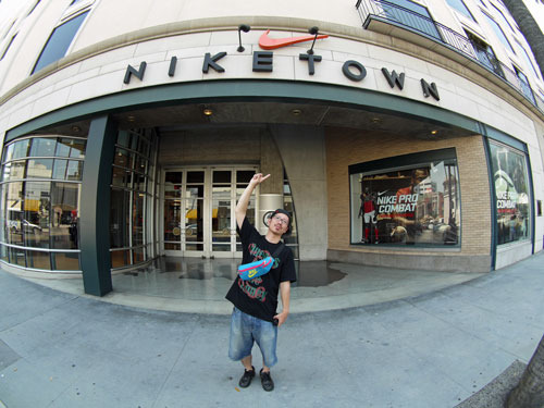 First Staff Blog-NIKE TOWN