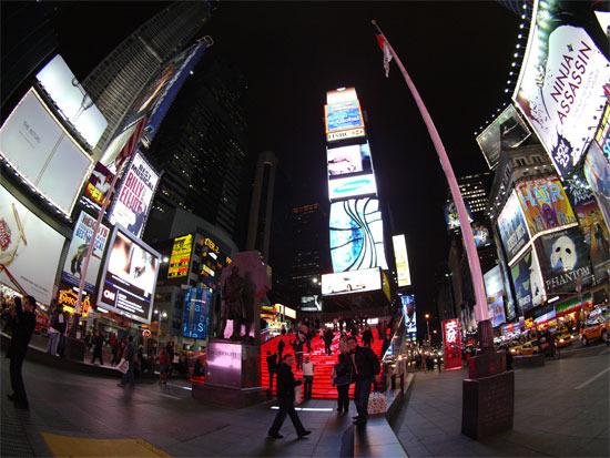 First Staff Blog-ニューヨークタイムズスクエア