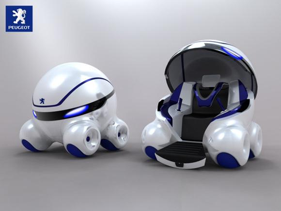 First Staff Blog-プジョーコンセプトカー