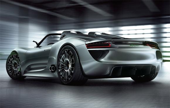 First Staff Blog-Porsche 918 Spyder Concept