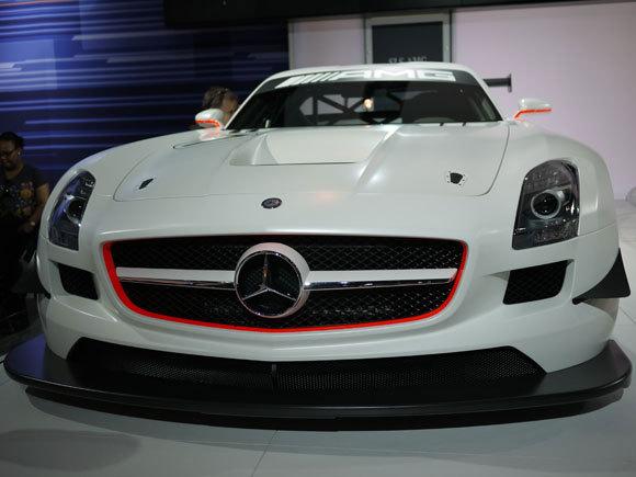 First Staff Blog-Mercedes Benz SLS AMG NewYork international Auto