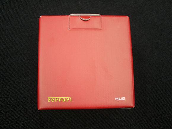 First Staff Blog-フェラーリマグカップ箱