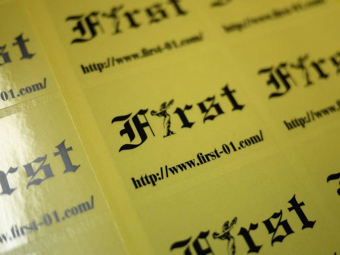 ☆ First Staff Blog ☆-Firts ステッカー