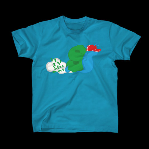 ☆ First Staff Blog ☆-SLOWBUCKS-Tシャツ-TEAL
