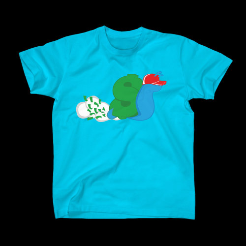 ☆ First Staff Blog ☆-SLOWBUCKS-Tシャツ-TAHITIBLUE