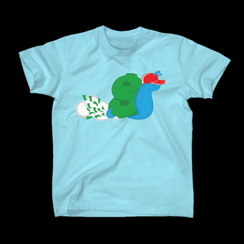 ☆ First Staff Blog ☆-SLOWBUCKS-Tシャツ-SKYBLUE