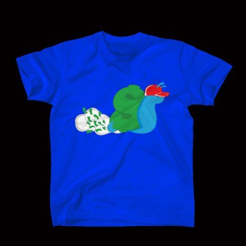 ☆ First Staff Blog ☆-SLOWBUCKS-Tシャツ-ROYALBLUE