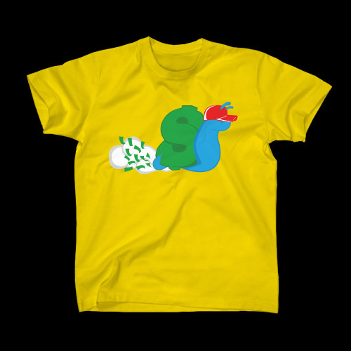 ☆ First Staff Blog ☆-SLOWBUCKS-Tシャツ-YELLOW