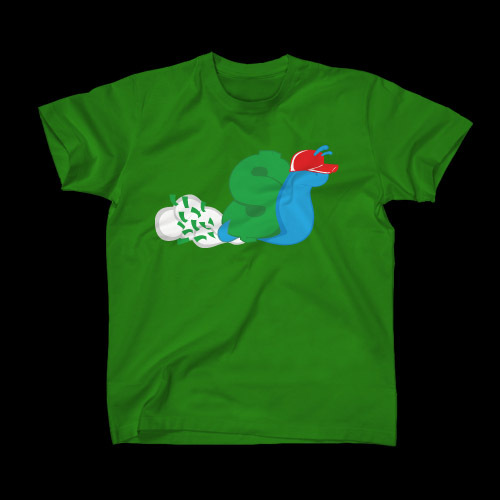 ☆ First Staff Blog ☆-SLOWBUCKS-Tシャツ-KELLYGREEN