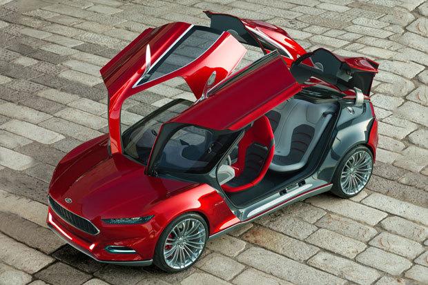 ☆ First Staff Blog ☆-Ford EVOS Concept Car