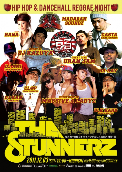 ☆ First Staff Blog ☆-STUNNERZ-12/03