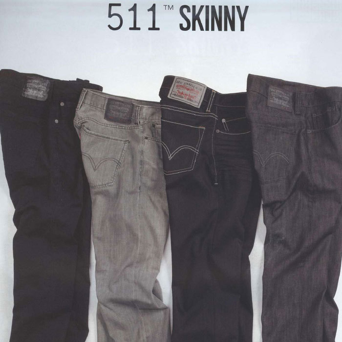 ☆ First Staff Blog ☆-levi's 511 スキニー
