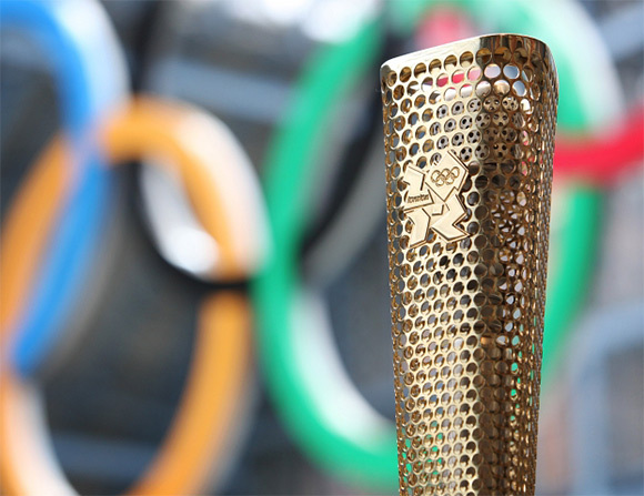 ☆ First Staff Blog ☆-London 2012 Olympics torch