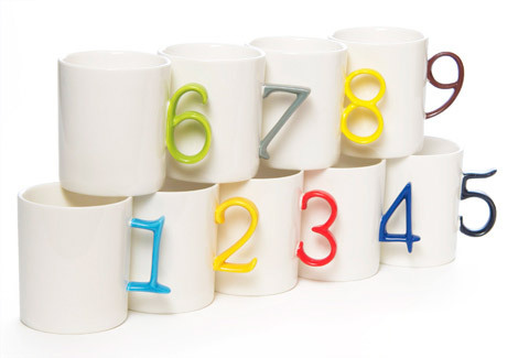 ☆ First Staff Blog ☆-Number Mugs
