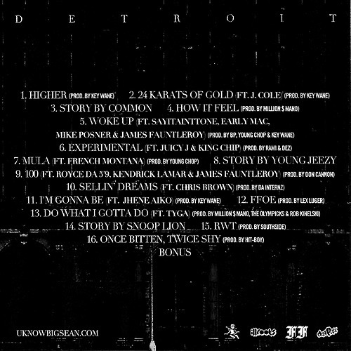 ☆ First Staff Blog ☆-BIG SEAN -Detroit-