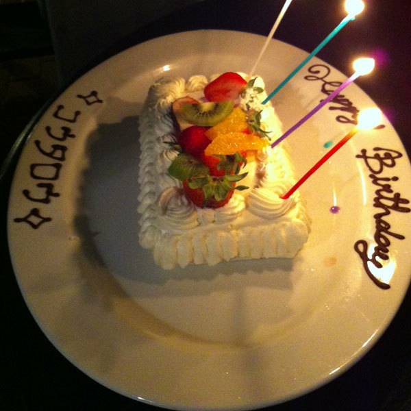 ☆ First Staff Blog ☆-cake