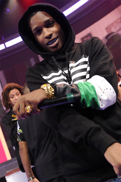 ASAP ROCKY 着用!Black Scale (ブラックスケール) Combat Rebellion Pullover Hoody Black (2)