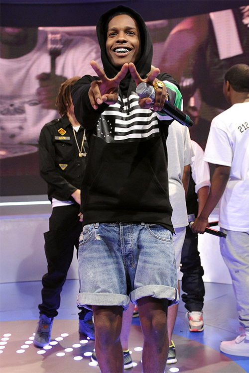 ASAP ROCKY 着用!Black Scale (ブラックスケール) Combat Rebellion Pullover Hoody Black (3)