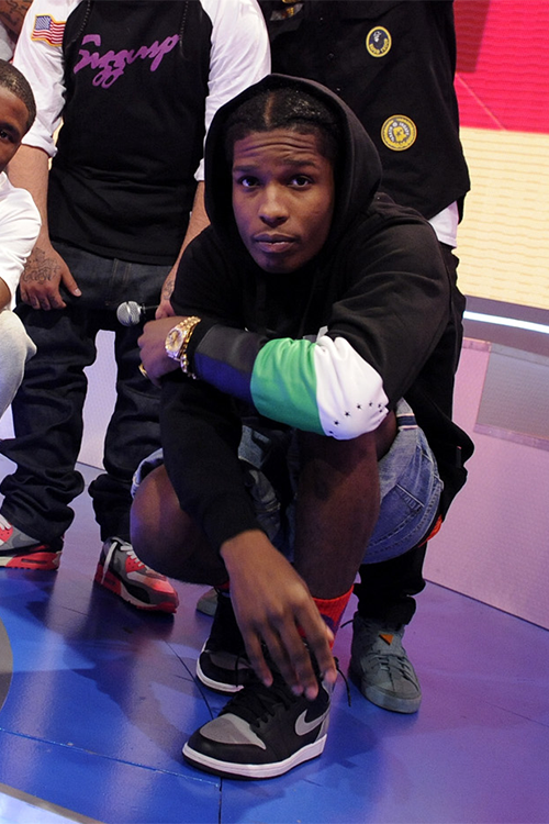 ASAP ROCKY 着用!Black Scale (ブラックスケール) Combat Rebellion Pullover Hoody Black (4)