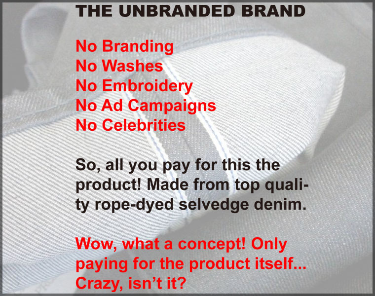 THE UNBRANDED BRAND by Naked & Famous